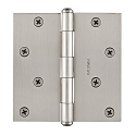 Baldwin Reserve Series 4 Inch Door Hinge with Square Corner