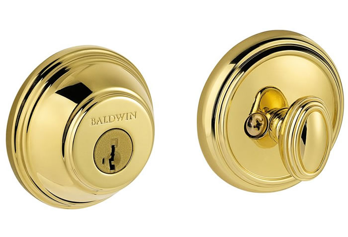 Baldwin Prestige Series Deadbolt Lifetime Polished Brass