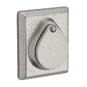 Baldwin Reserve Series Rustic Square Single Cylinder Deadbolt