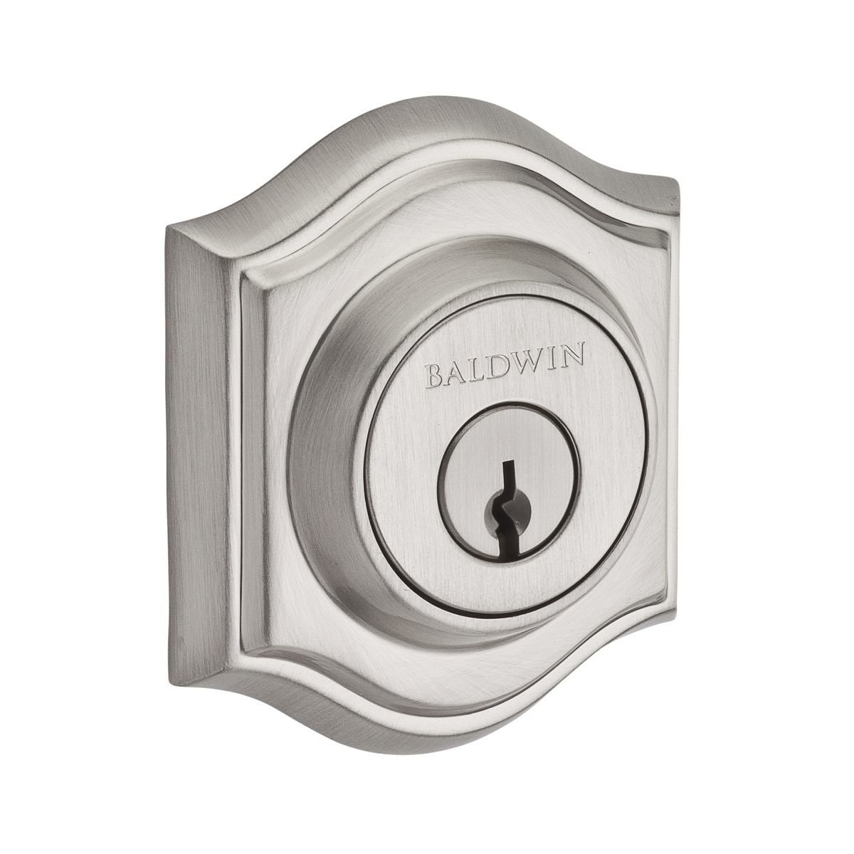 Baldwin Reserve Series Traditional Arch Single Cylinder Deadbolt