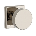 Baldwin Reserve Series Contemporary Knob with Square Rosette