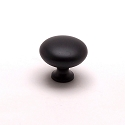 Berenson American Mission 1-1/8 InchKnob in Dull Black