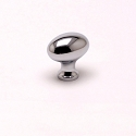 Berenson Valencia 1 3/16 Inch Knob in Polished Chrome