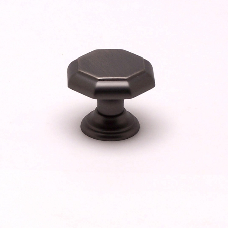 Berenson Euro Classica Series 1-1/8 Inch Knob in Brushed Tin