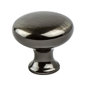 Berenson Advantage Plus 2 Knob 29MM Dia Brushed Black Nickel