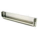 Berenson Recess Brushed Nickel Recessed Pull
