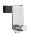 Beslagsboden Design Steel Door Hook - Brushed Stainless Steel