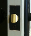 Square Corner Faceplate Latch
