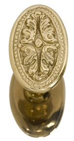 Brass Accents Avalon Knob