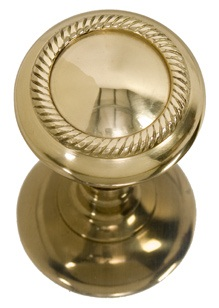Brass Accents Charleston Knob