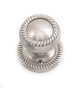 Brass Accents Passage Charleston Knob with 2 Inch Backset