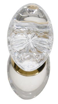 Brass Accents Georgetown Crystal Knob