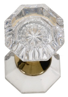 Brass Accents Hartford Crystal Knob