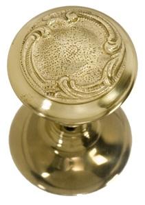 Brass Accents Lafayette Knob