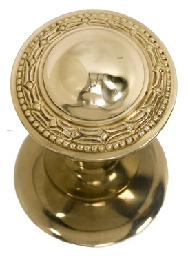 Brass Accents Laurel Knob