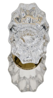 Brass Accents Savannah Crystal Knob