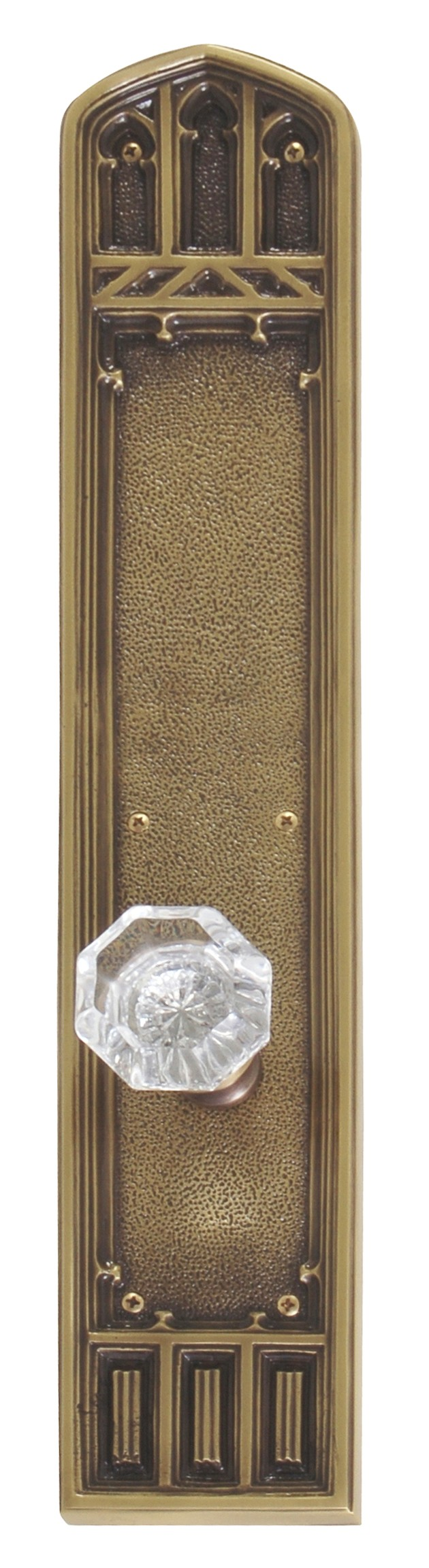 Brass Accents Large Oxford Collection Door Set