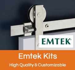 Emtek Barn Door Hardware Kits