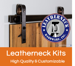 Leatherneck Barn Door Hardware Kits