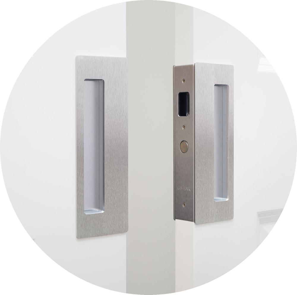 Cavilock Cl400d Magnetic Passage Pocket Door Lock For Bi Parting Doors