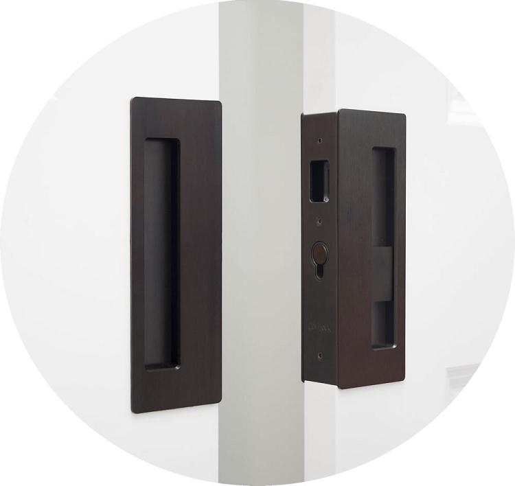 Cavilock Cl400d Magnetic Privacy Pocket Door Lock For Bi