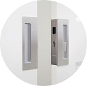 CaviLock CL400D Privacy Magnetic Bi-parting Pocket Door Set
