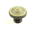 Century Country 1 3/16 Inch Cabinet Knob in Blonde Antique
