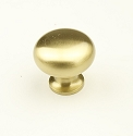 Century Elite 1 1/4 Inch Cabinet Knob in Satin Brass