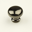 Century Elite 1 1/4 Inch Cabinet Knob in Black Nickel