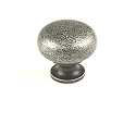 Century Hartford 1 1/4 Inch Cabinet Knob in Antique SIlver