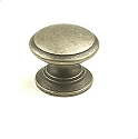 Century Hartford 1 1/4 Inch Cabinet Knob in Antique Pewter