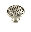 Century Highlander 1 3/16 Inch Cabinet Knob in Weathered Pewter