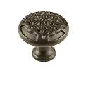 Century Highlander 1 3/16 Inch Cabinet Knob in Weathered Bronze