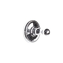 Century Aria Robe Hook - Polished Chrome