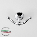 Century Ravello- Double Hook in Polished Chrome