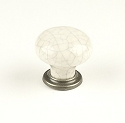 Century Nordic 1 3/8 Inch Cabinet Knob in Antique Pewter