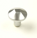 Century Venus 1 3/16 Inch Cabinet Knob in Dull Chrome