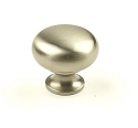 Century Yukon 1 1/4 Inch Cabinet Knob in Matt Satin Nickel