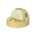 Deltana Solid Brass High Profile Floor Dome Stop