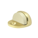 Deltana Solid Brass Low Profile Floor Dome Stop