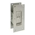 Deltana Decorative Privacy Pocket Door Lock