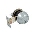 Deltana Single Cylinder Deadbolt Grade 1 Commercial Lock