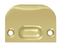 Deltana Solid Brass Full Lip Strike Plate