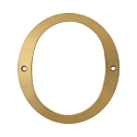 Deltana Solid Brass 6 Inch Numbers