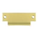 Deltana Solid Brass 4-7/8 x 1-1/4 Inch T-Strike without a Hole