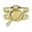 Deltana Solid Brass 1-1/16 x 3 Inch Window Sash Lock