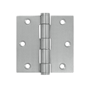 Deltana 3 1/2 x 3 1/2 Inch Stainless Steel Square Corner Hinge - EACH