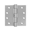 Deltana 4 x 4 Inch Stainless Steel Square Corner NRP Hinge - Pair