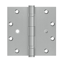 Deltana 5 x 5 Inch Stainless Steel Square Corner Hinge - Pair