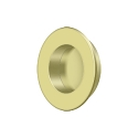 Deltana Solid Brass 1 7/8 Inch Diameter Round Heavy Duty Flush Pull